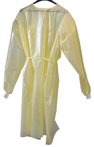 Disposable Gown_Yellow
